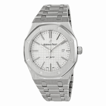 Audemars Piguet Royal Oak 15400ST.OO.1220ST.02 Silver with Grande Tapestry pattern