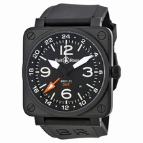 Bell and Ross Aviation BR-01-93 GMT Stainless Steel