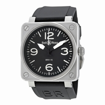 Bell and Ross Aviation BR0192-BL-ST Black