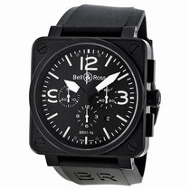 Bell and Ross Aviation BR0194-BL-CA Swiss Made