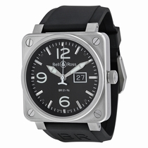 Bell and Ross Aviation BR0196-BL-ST Automatic