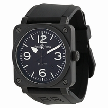 Bell and Ross Aviation BR0392-BL-CE Automatic