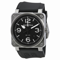 Bell and Ross Aviation BR0392-BL-ST Automatic