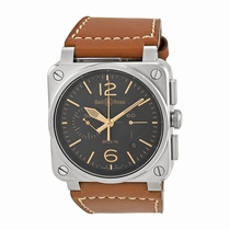 Bell and Ross Aviation BR0394-ST-G-HE/SCA Black