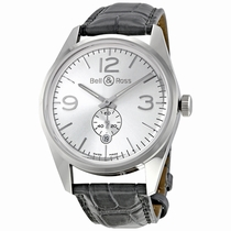 Bell and Ross Vintage BRG123-WH-ST/SCR Stainless Steel