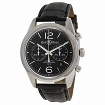 Bell and Ross Vintage BRG126-BL-ST/SCR Mens