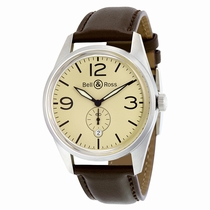 Bell and Ross Vintage BRV123-BEI-ST-SCA Mens