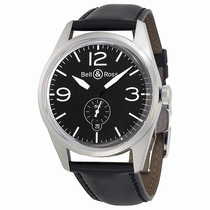Bell and Ross Vintage BRV123-BL-ST-SCA Swiss Made