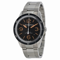 Bell and Ross Vintage BRV123-ST-HER/SST Stainless Steel