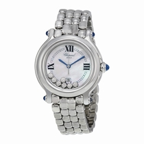 Chopard Happy Sport 278236-3016 Mother of Pearl with 7 Floating Diamonds