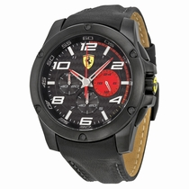 Ferrari 830030 Black Ion-plated Stainless Steel