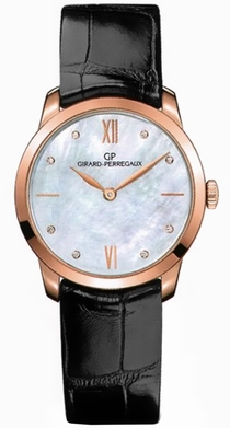 Girard Perregaux Classique 49528-52-771-CK6A White Mother of Pearl