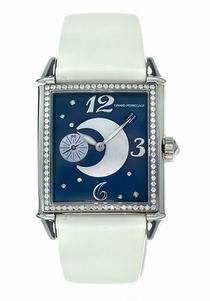 Girard Perregaux Vintage 25932-D11-A421-IK7 Blue With Diamonds