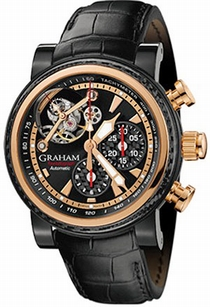 Graham Silverstone 2TWAO.B01A Black Galvanic and Semi-Transparent
