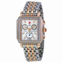 Michele MWW06P000232 Stainless Steel and Rose Gold-plated
