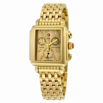 Michele MWW06P000244 Gold-plated Stainless Steel