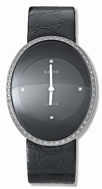 Rado Esenza R53541716 Black With 4 Diamonds
