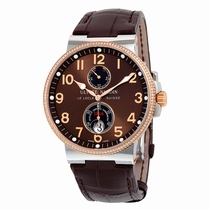 Ulysse Nardin Maxi Marine 265-66-BROWN Stainless Steel and