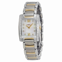 Ebel Brasilia 1215769 White Mother-of-pearl With 10 Diamonds