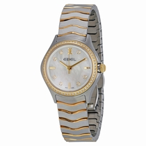Ebel Wave 1216198 Stainless Steel and 18kt Yellow Gold
