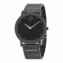 Movado 0606882 Black PVD Stainless Steel