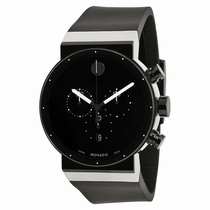 Movado Sapphire 0606501 Black PVD Stainless Steel